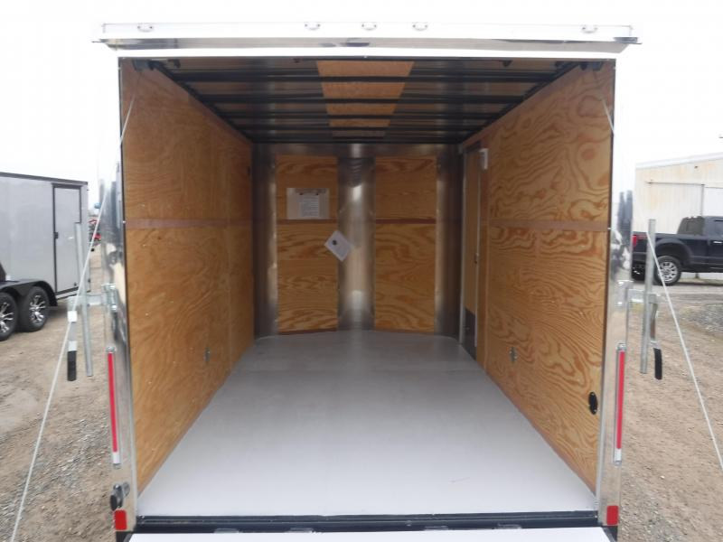 2019 Cargo Craft 7x12 12ft Enclosed Cargo Trailer