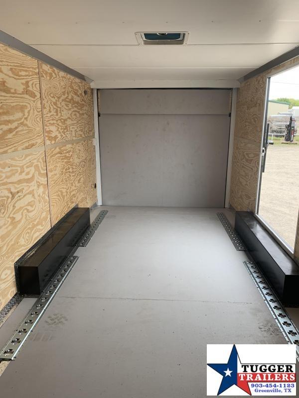 2019 Cargo Craft 8.5x18 2 V-Nose 18ft Toy ATV Side Enclosed Cargo Trailer