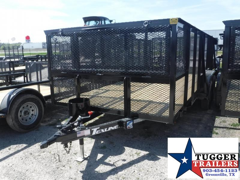 2019 TexLine 83x16' 16 FT Utility Landscape Mower Equipment Trailer