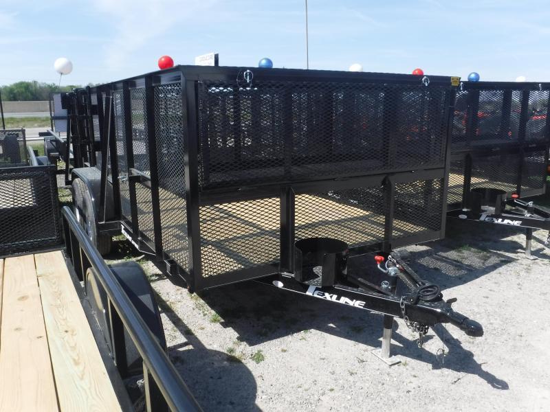 2019 TexLine 83x16' 16 FT Utility Landscape Mower Equipment Trailer
