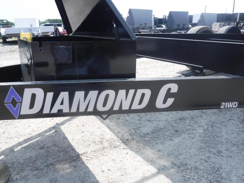 2018 Diamond C Trailers 21 WDL 14X82 Dump Trailer