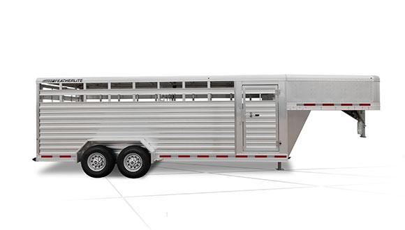 2019 Featherlite 8117 Stock / Stock Combo Trailer