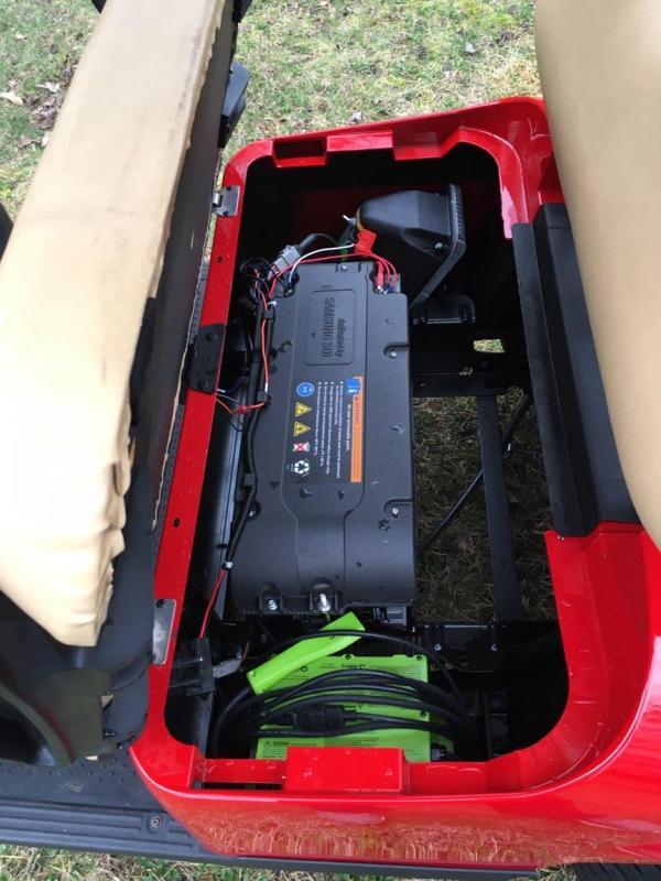 2017 E Z Go Txt Elite Lithium Golf Cart T And T Golf
