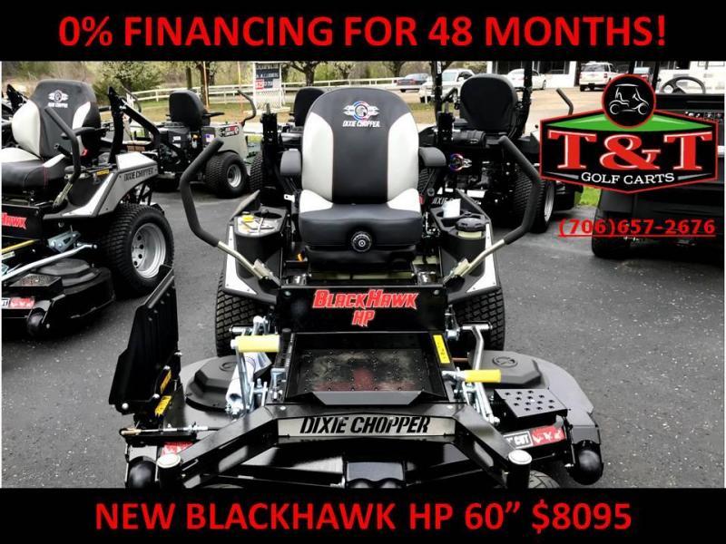 2018 DIXIE CHOPPER BLACKHAWK Hp 2460kw LAWN MOWER