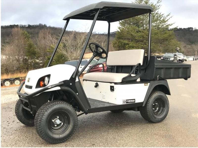 2018 Cushman HAULER 800x Golf Cart