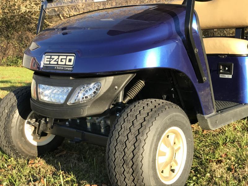 2017 E-Z-GO TXT GAS Golf Cart | T and T Golf Carts ...