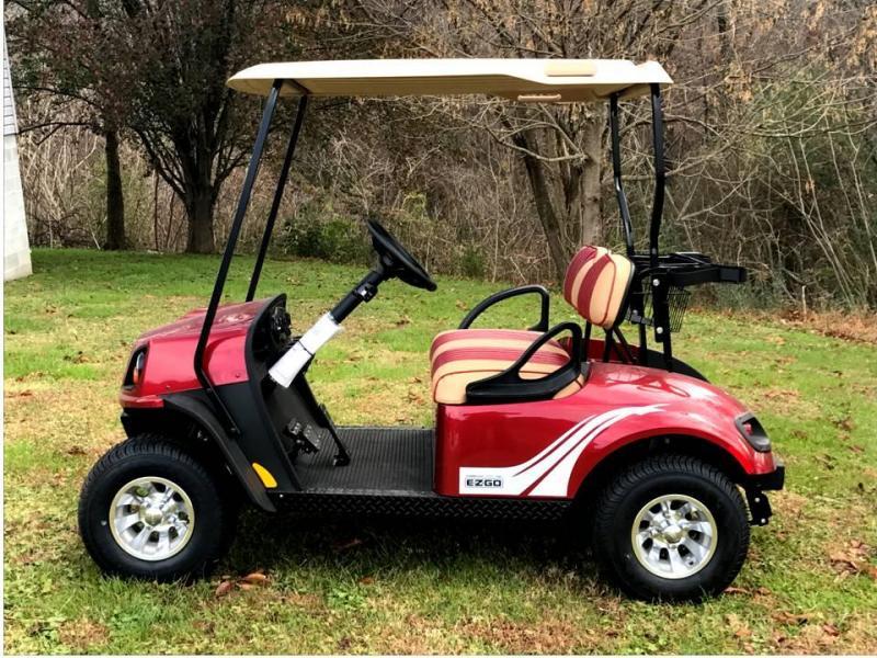2018 E-Z-GO TXT 72v ELECTRIC Golf Cart