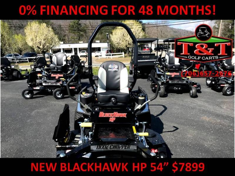 2018 Dixie Chopper BLACKHAWK Hp 2454kw Lawn Mower