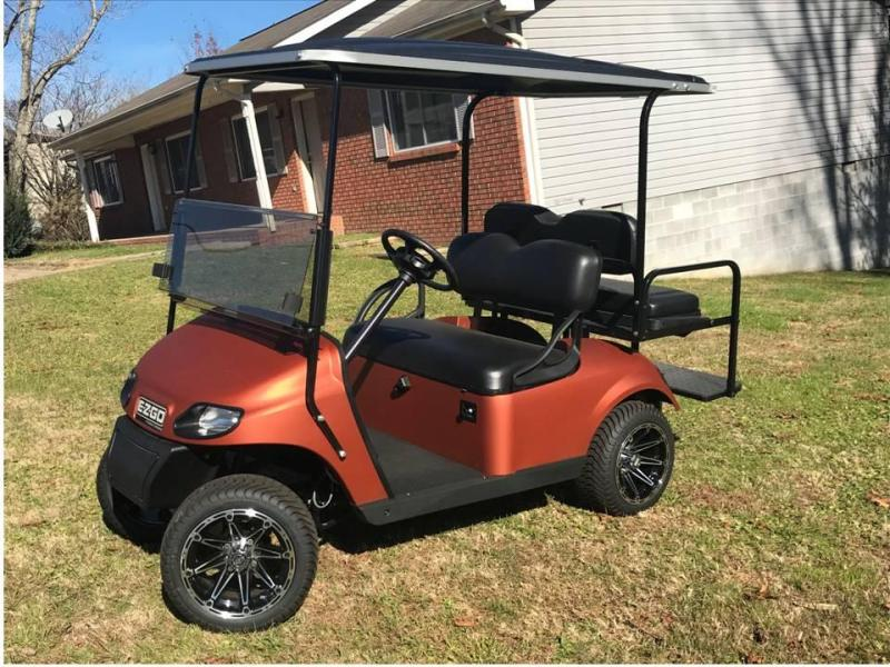 2017 E-Z-GO FREEDOM TXT GAS Golf Cart