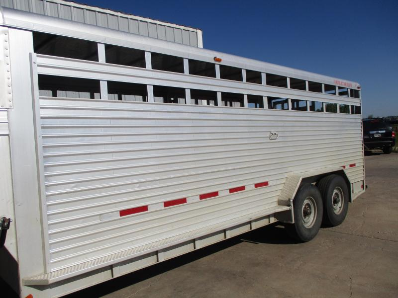 1993 Featherlite Stock Livestock Trailer