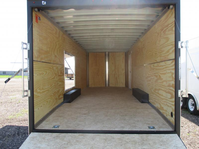 2018 H and H Trailer Cargo Enclosed Cargo Trailer 101 X 24
