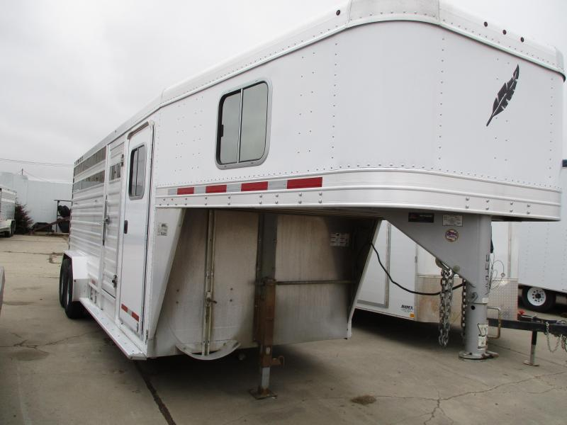2013 Featherlite Stock Combo Trailer 7 X 20