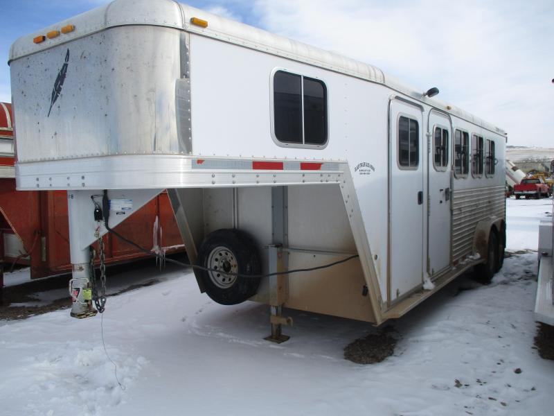 2005 Featherlite 4 Horse Trailer 7 X 22