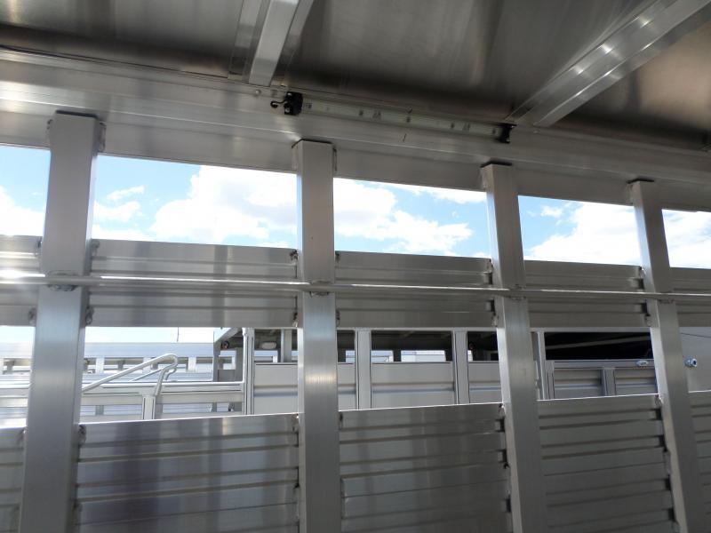 2018 Eby Trailers Maverick Combo Livestock Trailer7X22