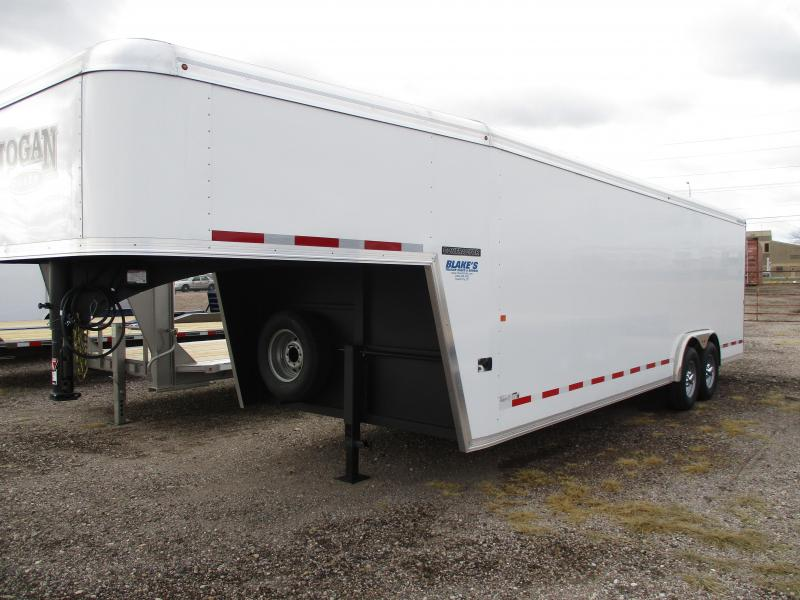 2019 Logan Coach Contractor Enclosed Cargo Trailer 8 X 24