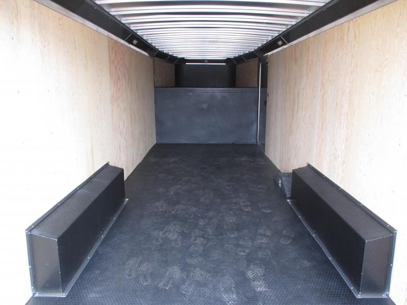 2019 Logan Coach Contractor Enclosed Cargo Trailer 8 X 24