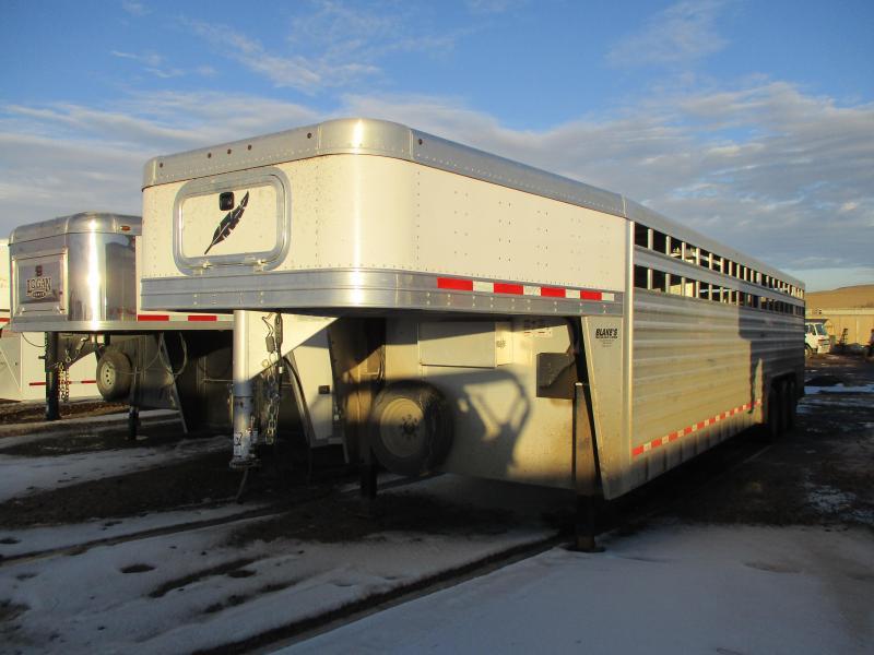 2016 Featherlite 8127 Livestock Trailer 8 X 32