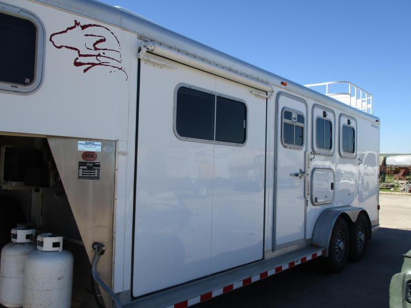 2003 Sooner 3 Horse Trailer