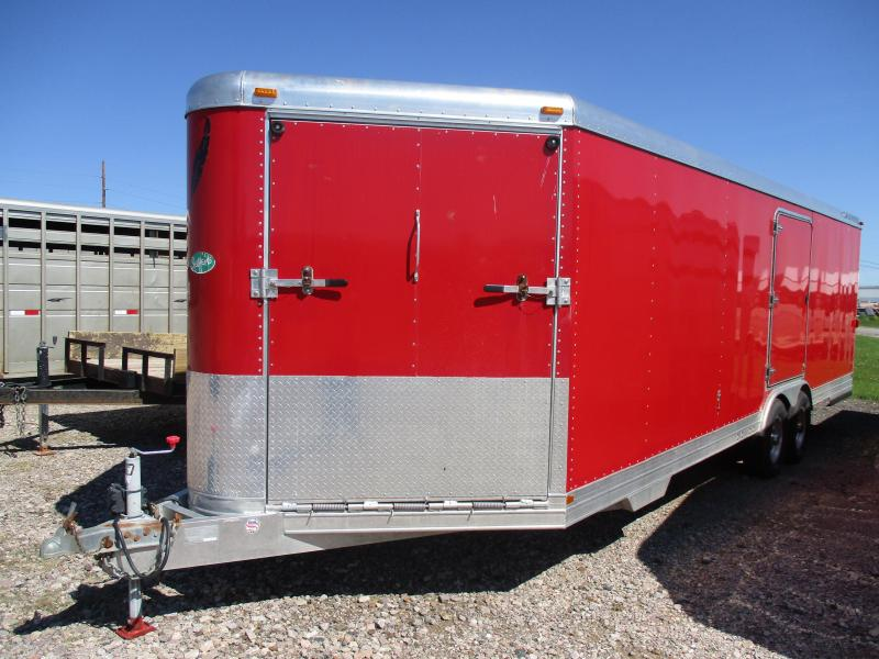 2003 Featherlite Cargo Enclosed  Trailer 8 X 24