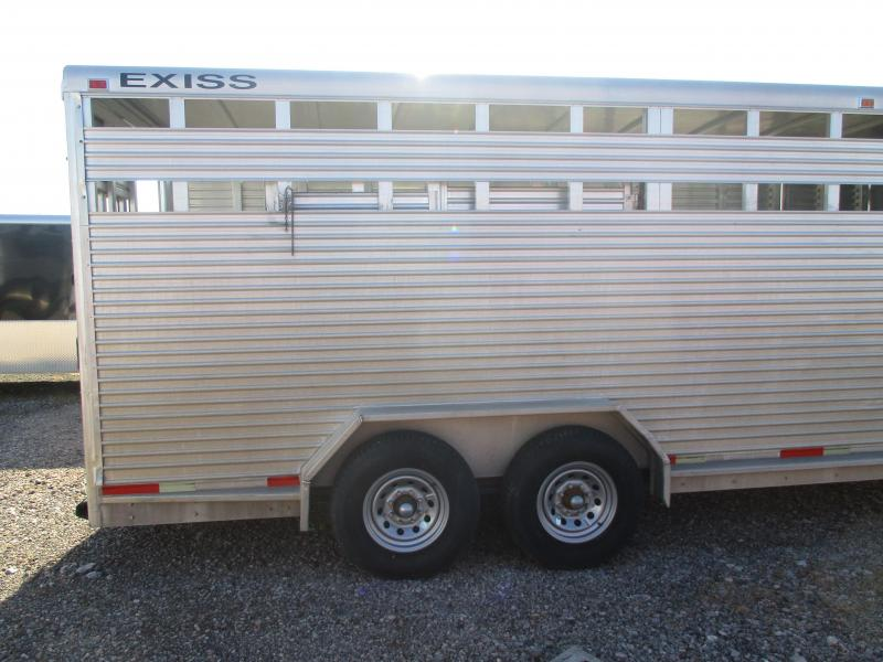 1998 Exiss Trailers Stock Livestock Trailer