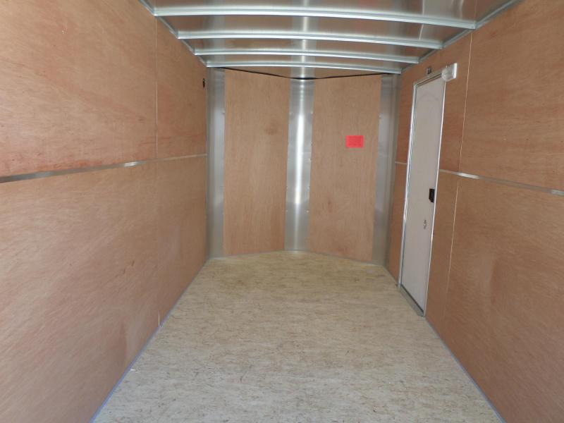 2019 H and H Trailer Cargo Enclosed Cargo Trailer 7 X 16