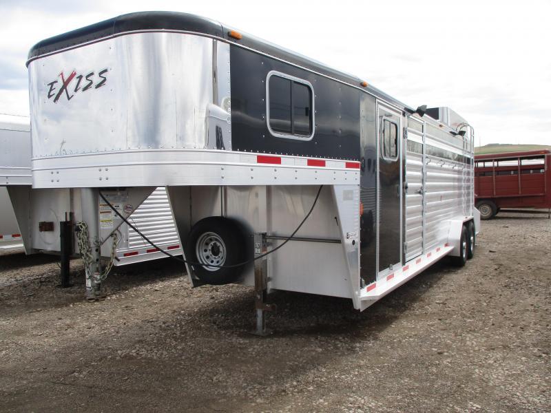 2012 Exiss Trailers Stock Combo Livestock Trailer
