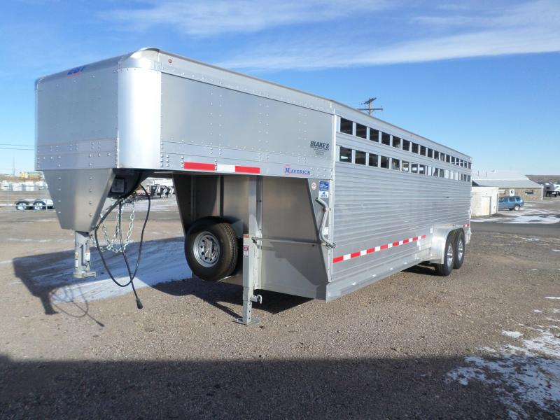 2018 Eby Trailers Dakota Edition Livestock Trailer 7 X 24