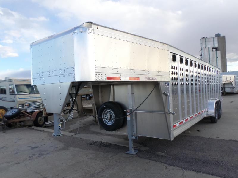 2017 Eby Trailers Maverick Livestock Trailer 7 X 24