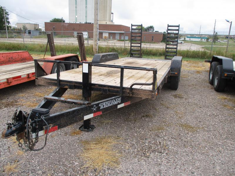 2013 Titan Trailers Flatbed Flatbed Trailer