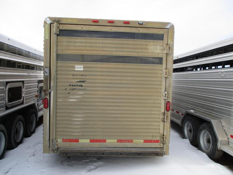 2003 Exiss Trailers Stock Combo Horse Trailer 7 X 26