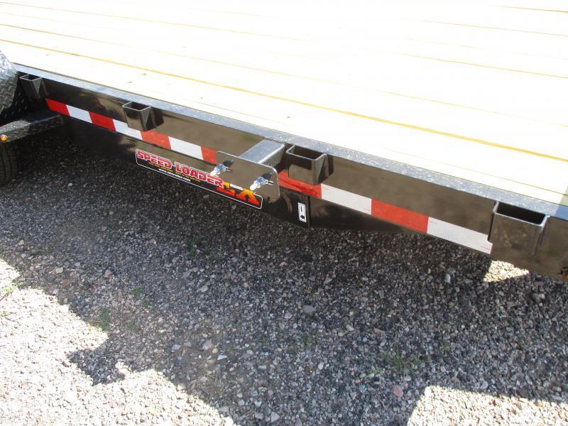 2020 H and H Trailer Speed loader Flatbed Trailer