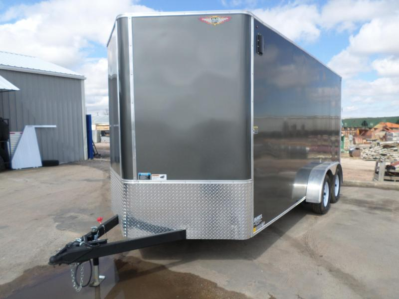 2018 H and H Trailer Cargo Enclosed Cargo Trailer 7 X 16