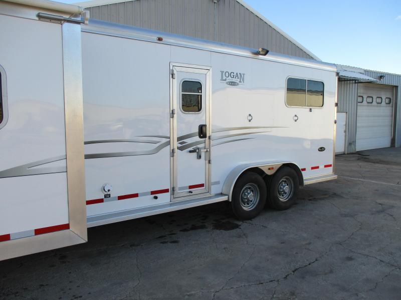 2013 Logan Coach Warmblood Horse Trailer