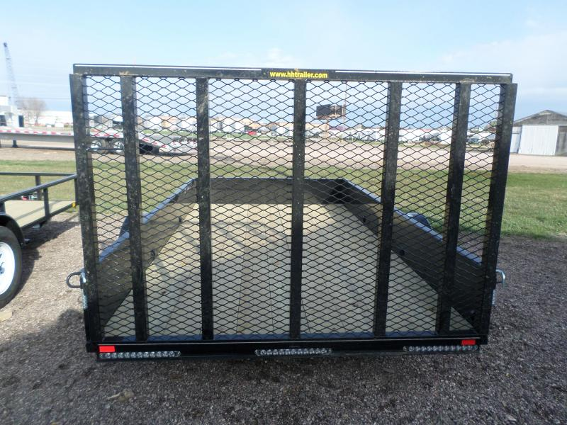 2018 H and H Trailer Utility Trailer 76 X 14