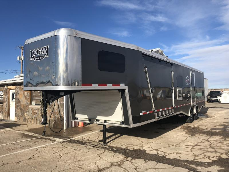 2018 Logan Coach Horsepower Enclosed Cargo Trailer 8'6 X 31