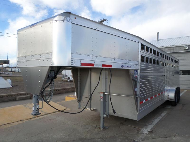 2017 Eby Trailers Freedom Edition Livestock Trailer 7 X 24