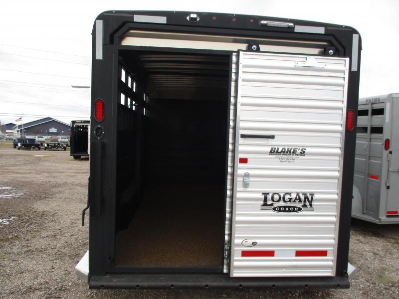 2019 Logan Coach Stock Combo Livestock Trailer 7 X 20