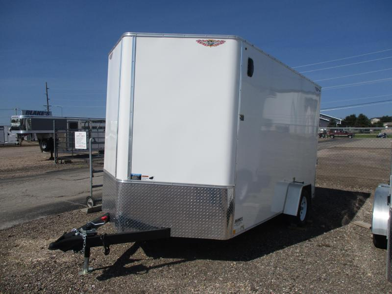H and H Trailer Cargo Enclosed Cargo Trailer 7 X 12