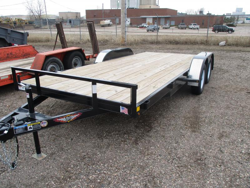 2019 H and H Trailer Car Hauler Utility Trailer 82 X 18