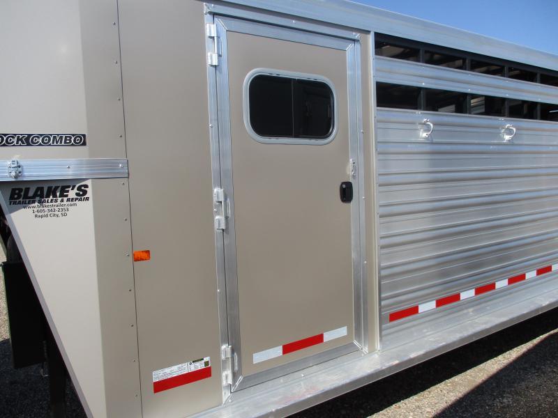 2019 Logan Coach Stock Combo Livestock Trailer