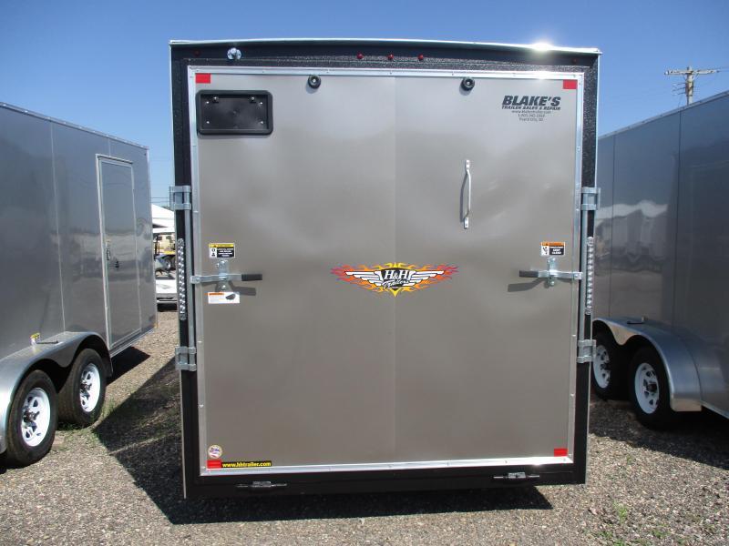 2020 H and H Trailer Cargo Enclosed Cargo Trailer 7 X 16