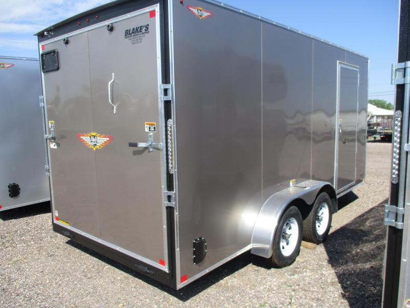 2020 H and H Trailer Cargo Enclosed Cargo Trailer 7 X 16