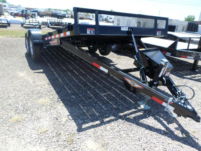 2017 H and H Trailer Speedloader Flatbed Trailer
