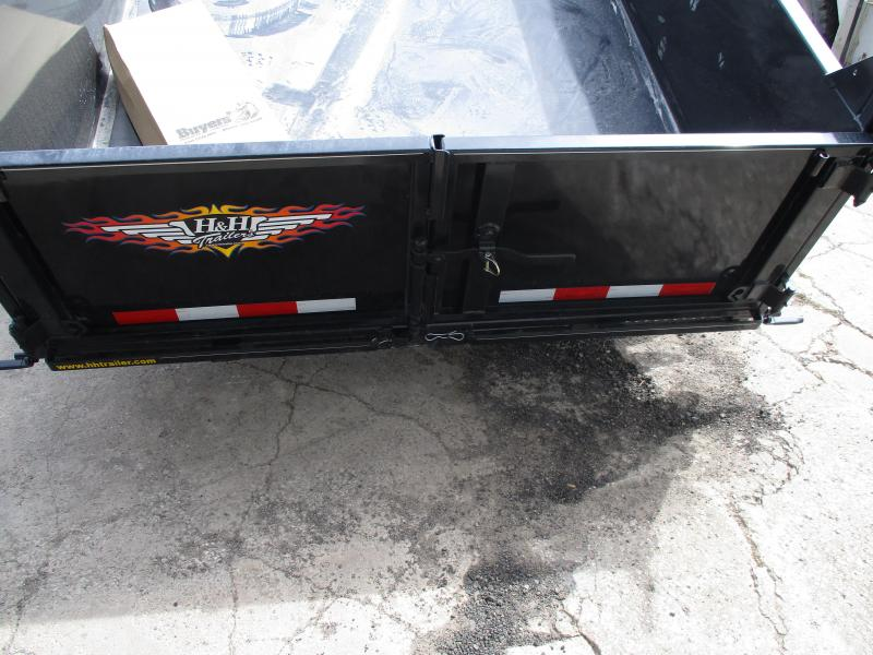 2018 H and H Trailer Dump Trailer 76 X 10