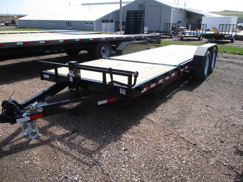 2019 H and H Trailer Tiltbed Flatbed Trailer