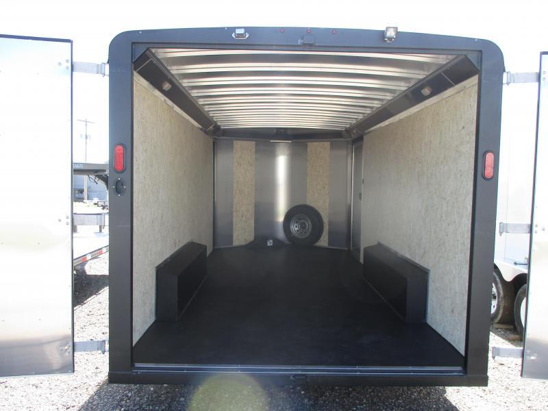 2019 Logan Coach Contractor Enclosed Cargo Trailer 8 X 16