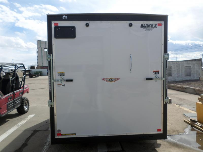 2019 H and H Trailer Cargo Enclosed Cargo Trailer 7 X 14