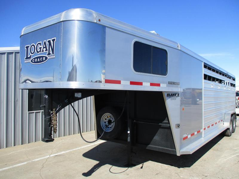 2018 Logan Coach Stock Combo Trailer 7 X 24