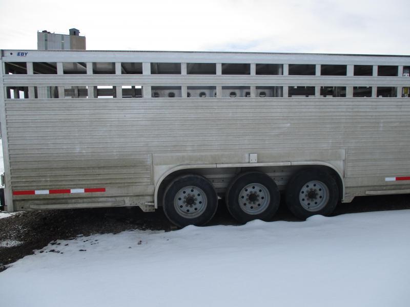 2018 EBY Ruffneck Livestock Trailer 8 X 32