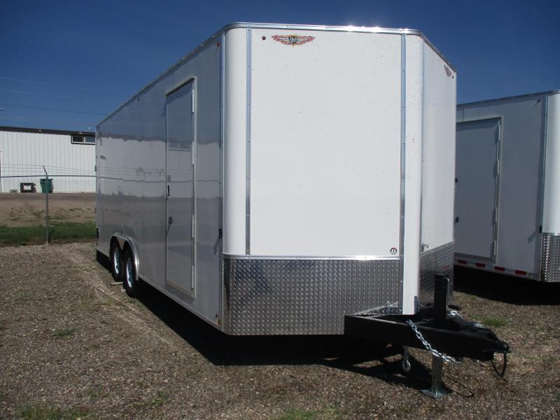2018 H and H Trailer Cargo Enclosed Trailer 101 X 20